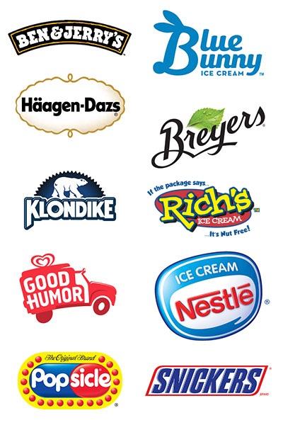 Ice Cream Logos